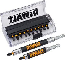 Load image into Gallery viewer, DeWalt Extreme Impact Torsion Screwdriver Bit Set, Yellow/Black, Set of 14 Pieces