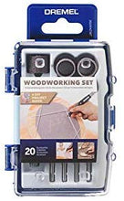 Load image into Gallery viewer, Dremel Woodwork Set 20-Piece Multi Tool