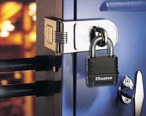 Master Lock Excell high security anti-rust outdoor padlock with combination lock