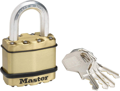 Master Lock Padlock, Excell® Covered Laminated Steel Padlock