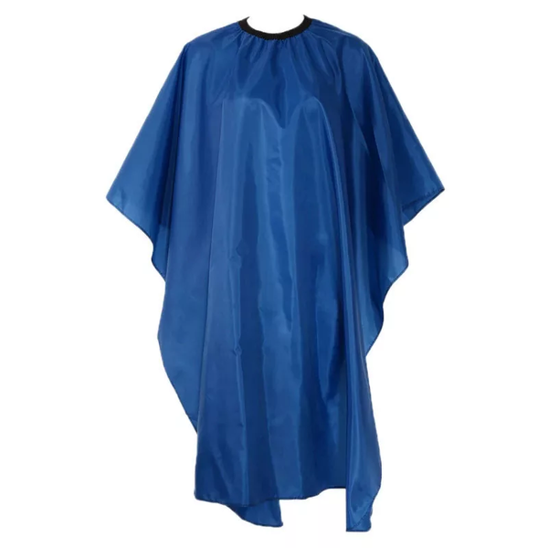 Plain Blue Professional Barber Hairdressing Cape