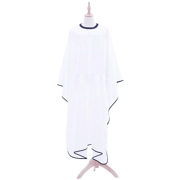 Plain white Professional Barber Hairdressing Cape
