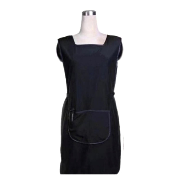 Professional Hairdressing Apron in Black