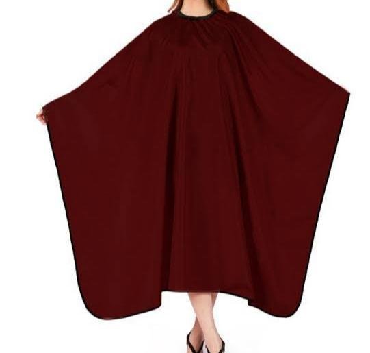 Professional Barber Hairdressing Cape in Maroon Colour