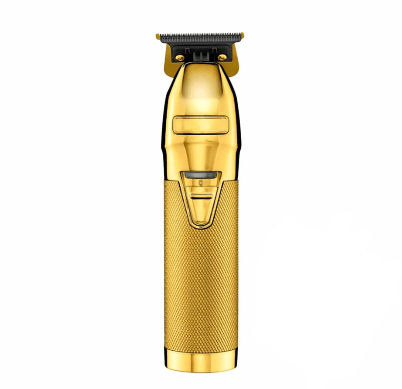 Professional Cordless Barber Hair Trimmer in Golden Colour