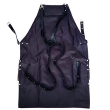 Load image into Gallery viewer, leather barber apron