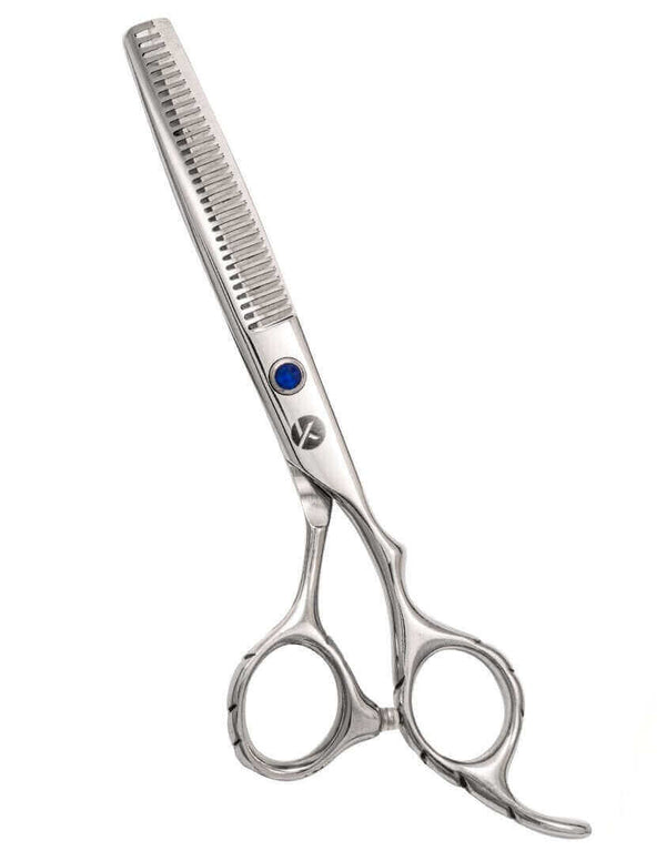 Blue Crystal Right Handed Thinning Scissors
