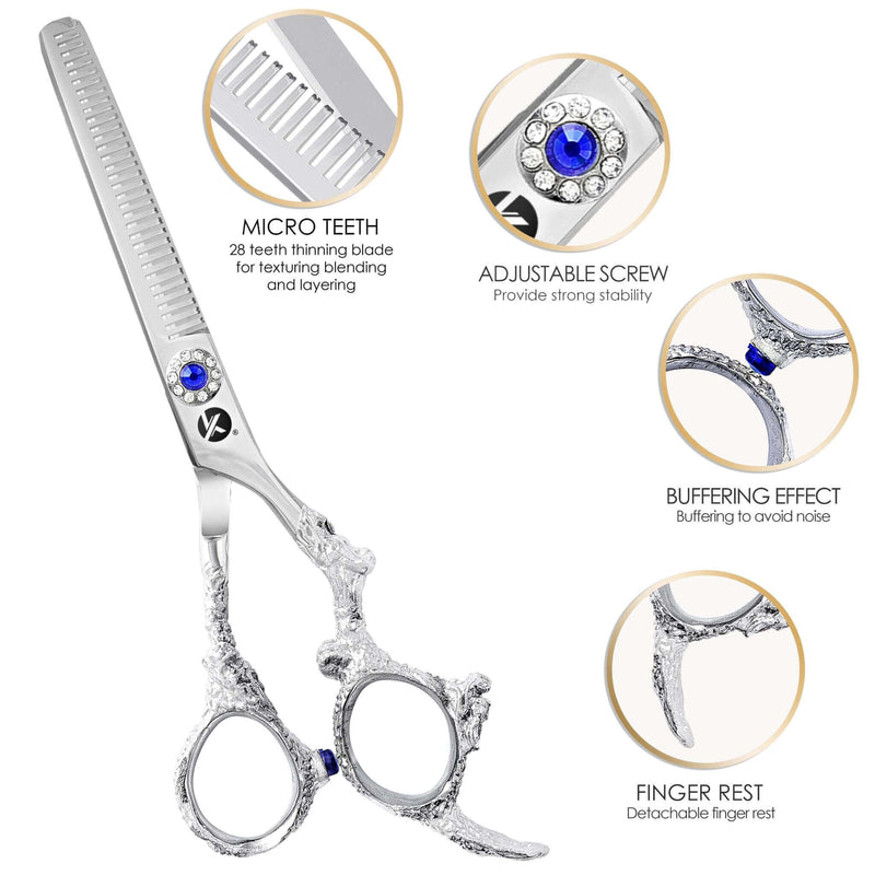"Dragon 6.5"" Thinning Scissors"
