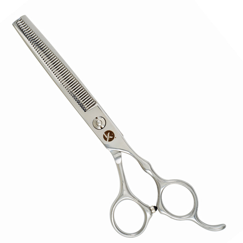 "Hairdressing Scissors Set 6.5"" Classic Silver Chrome"