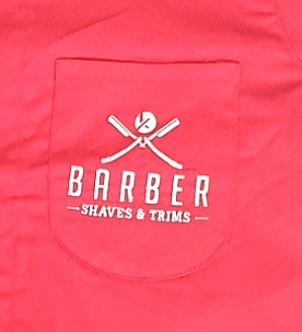 Red Barber Shirt