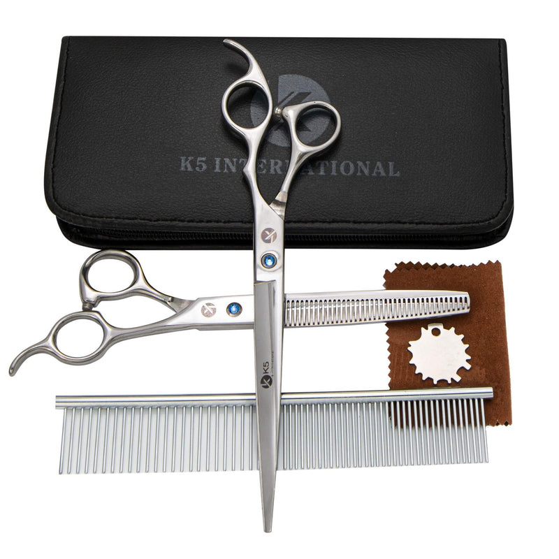 Pet Hair Grooming Straight Scissors