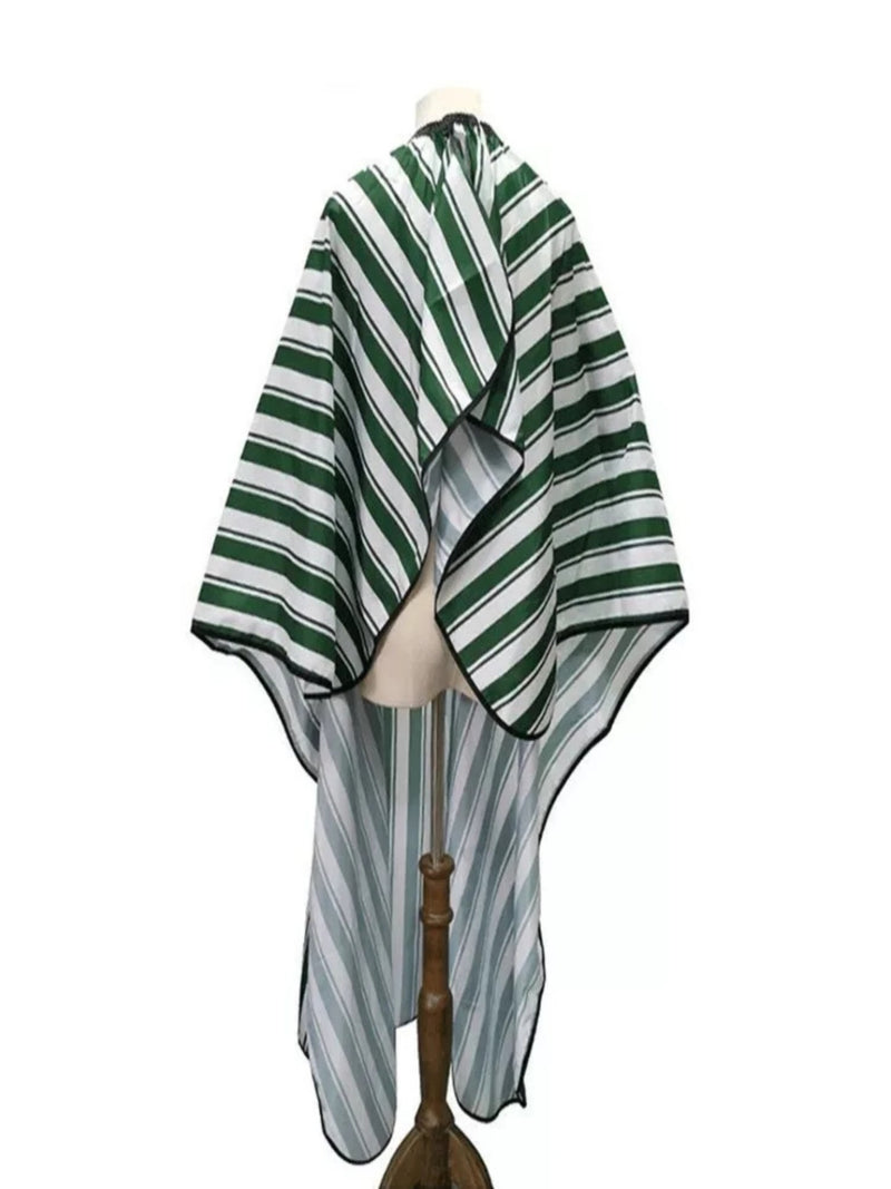 Green & White Barber Hairdressing Cape