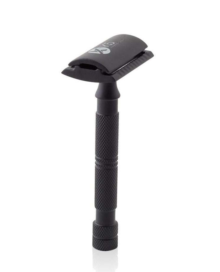 Safety Razor in Metal Black