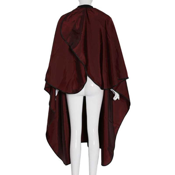 Barber Hairdressing Cape in Maroon Colour