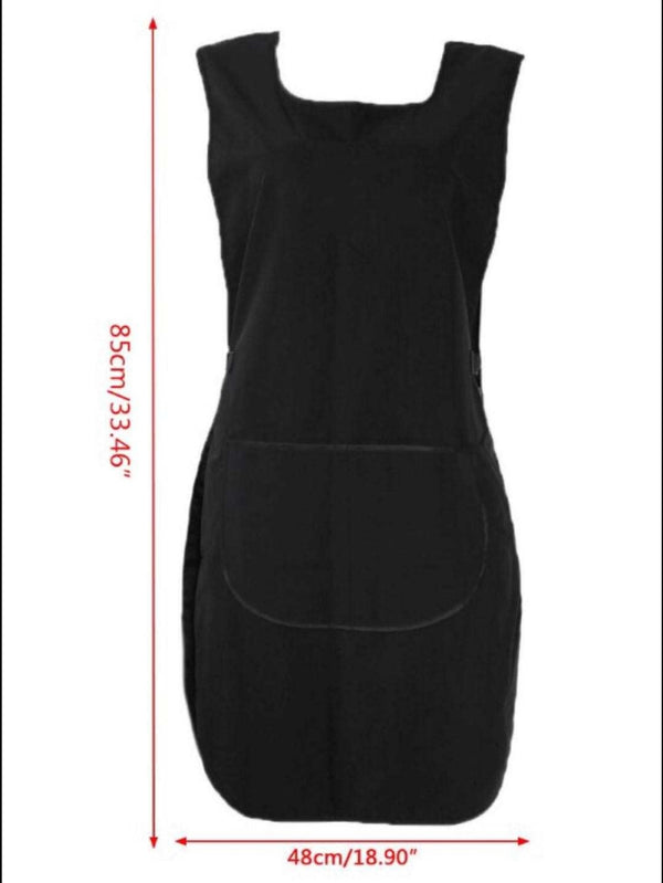 Hairdressing Apron in Black