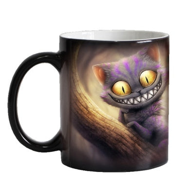 Mug magique chat Cheshire | Mugs Passion