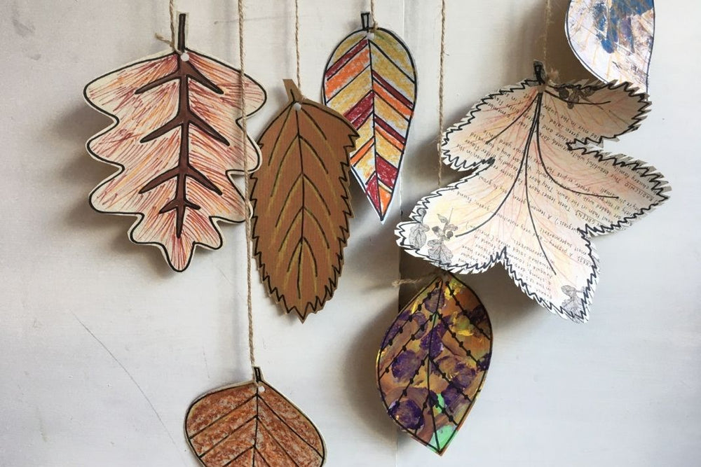 Make a Leaf Mobile - Video Tutorial
