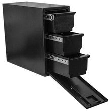 Load image into Gallery viewer, Better Built 29217125 Tower Truck Box, 3 Drawers, Steel, Gloss Black