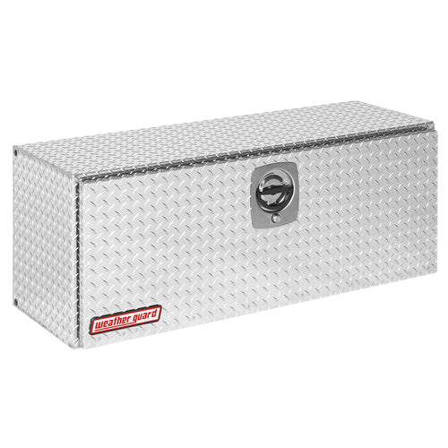 WEATHER GUARD 347-0-02 Super Hi-Side Box, Aluminum,  7.7 cu ft