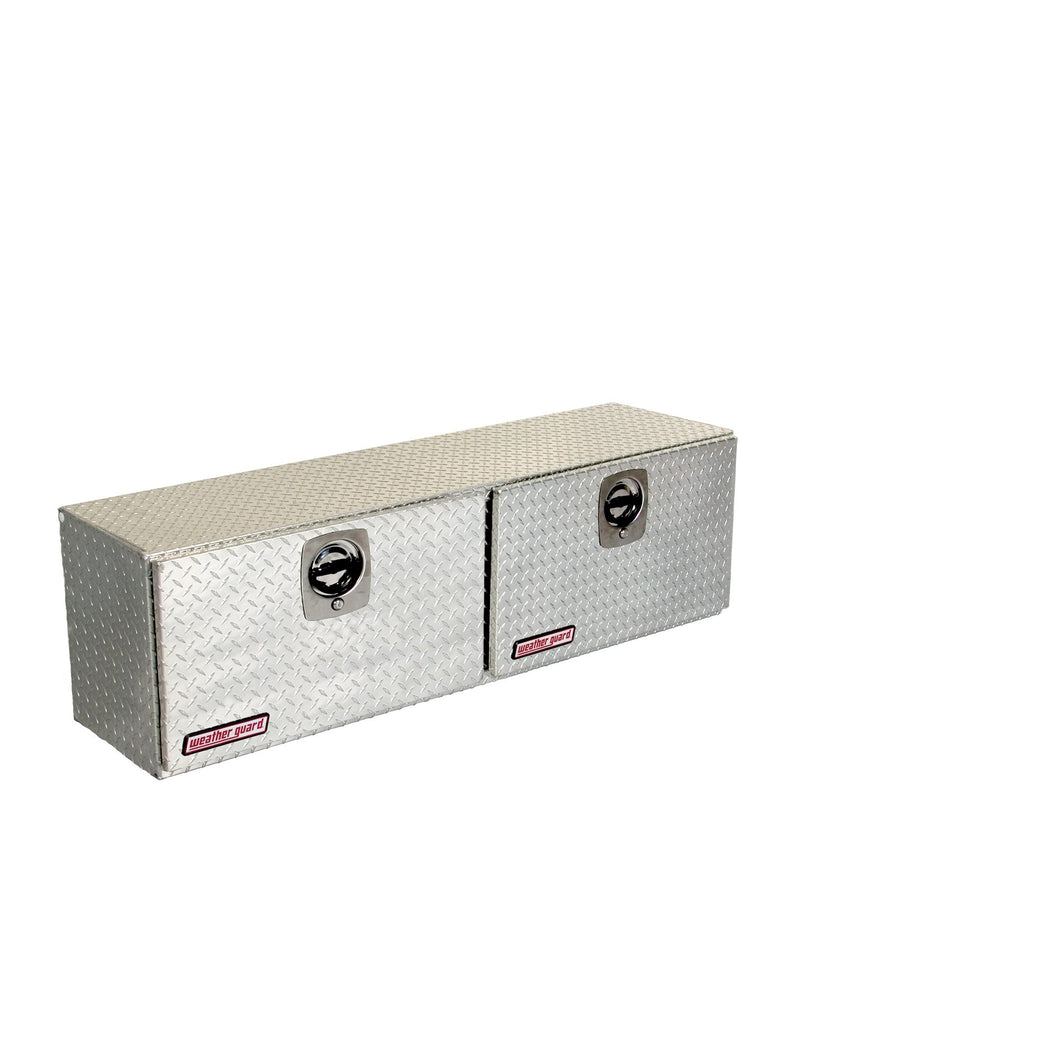 WEATHER GUARD 364-0-02 Hi-Side Box, Aluminum, 7.9 cu ft