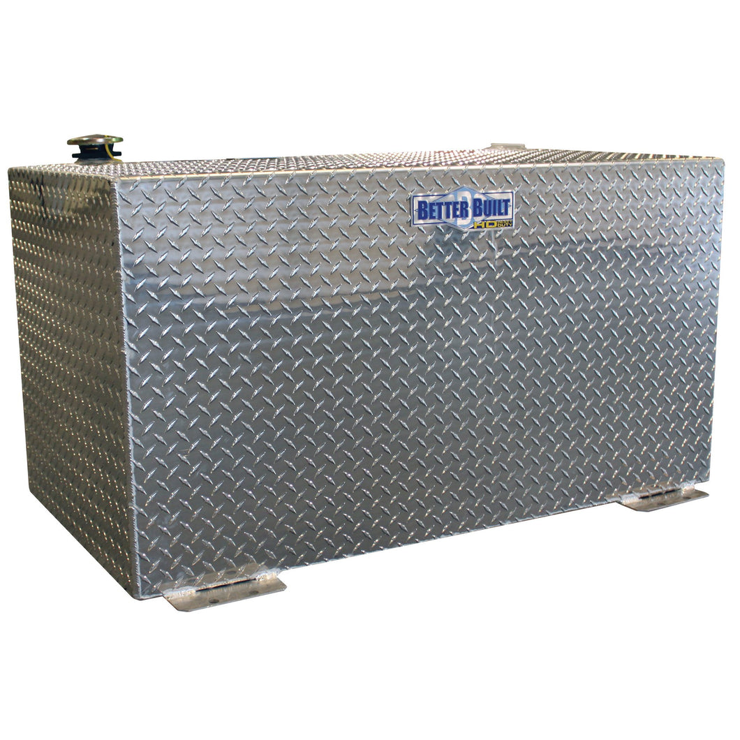 Better Built 37024151 Aluminum Transfer Tank, 100 Gallon, Rectangle, Brite Aluminum