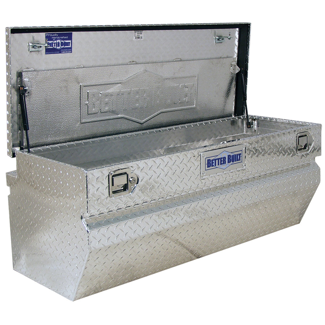 Better Built 62012331 60in Chest Truck Box, Brite Aluminum