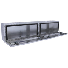 Load image into Gallery viewer, Better Built 64010146 90in Hi-Side Truck Box, Double Door, Brite Aluminum