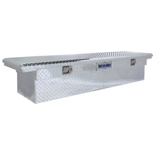 Load image into Gallery viewer, Model 73010910 71in Saddle Truck Box, Low-Profile, Brite Aluminum