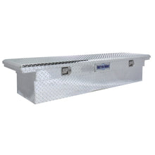 Load image into Gallery viewer, Model 73010912 61.5in Saddle Truck Box, Low-Profile, Brite Aluminum