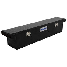 Load image into Gallery viewer, Model 73210283 69in Saddle Truck Box, Low-Profile, Narrow, Gloss Black