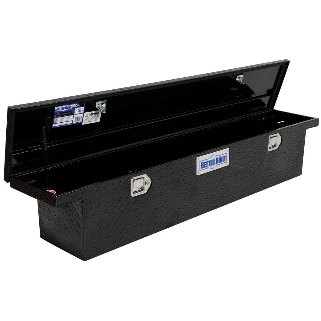 Better Built 73210283 69in Saddle Truck Box, Low-Profile, Narrow, Gloss Black