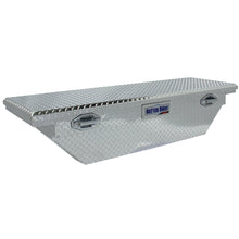 Load image into Gallery viewer, Model 79011000 61.5in Saddle Truck Box, Low-Profile, Wedge, Brite Aluminum