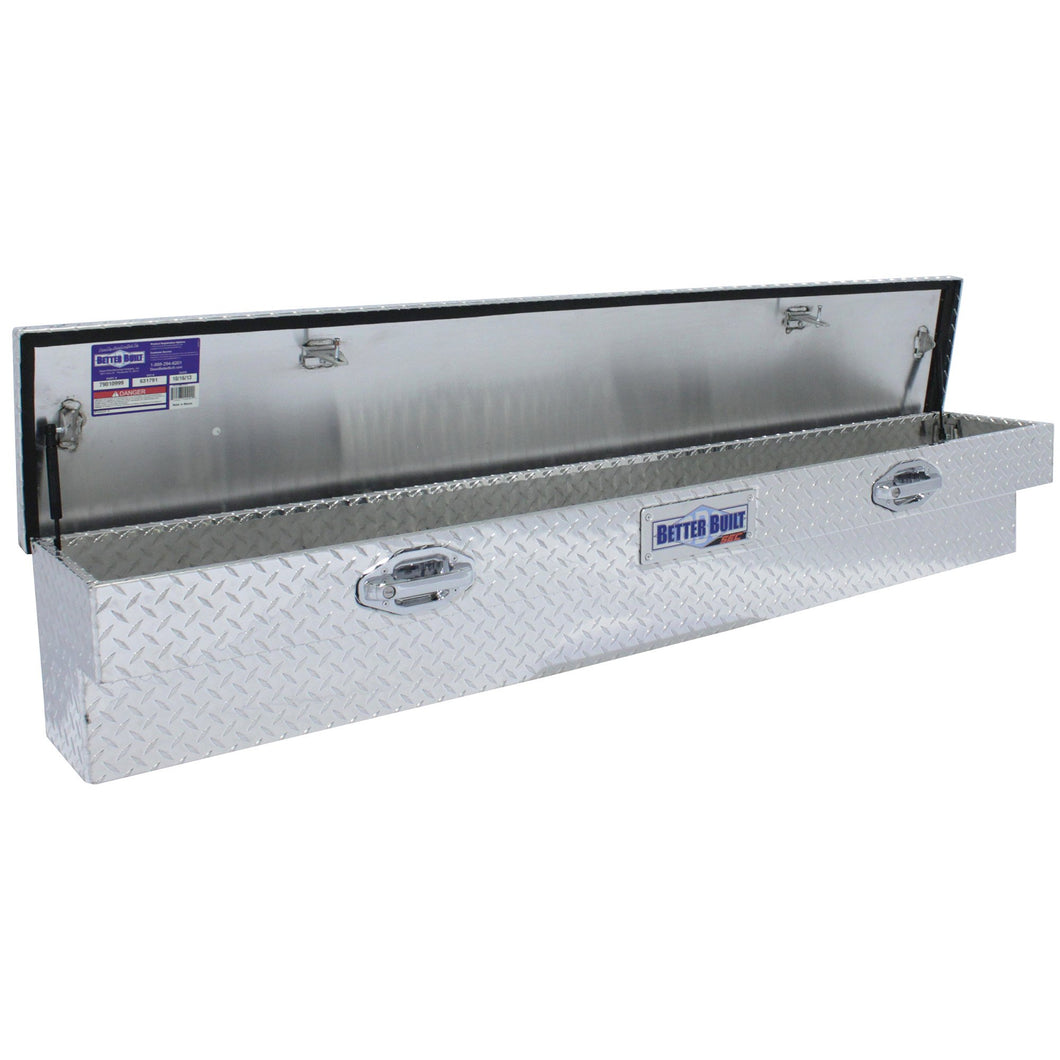 Better Built 79011033 60in Lo-Side Truck Box, Brite Aluminum