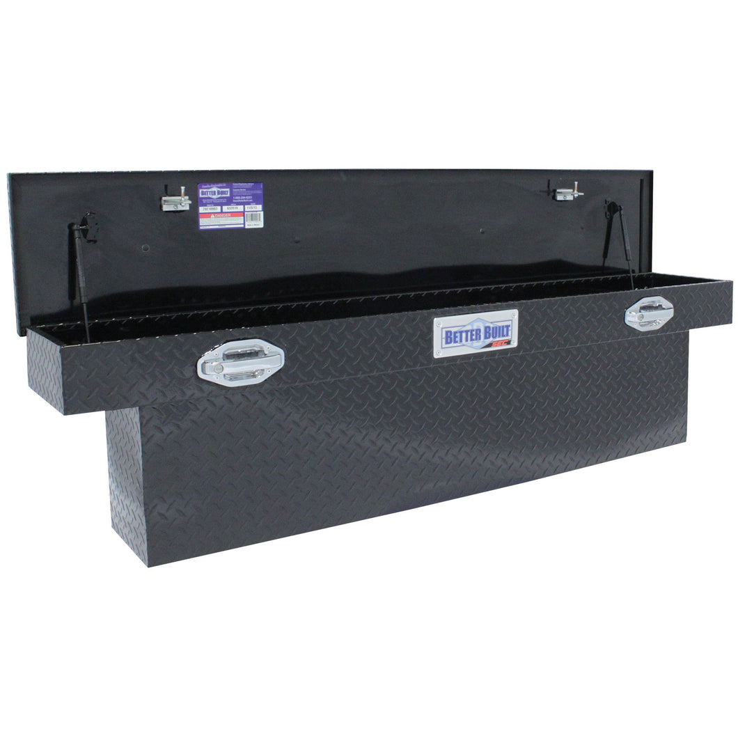 Better Built 79210903 69in Saddle Truck Box, Low-Profile, Narrow, Gloss Black