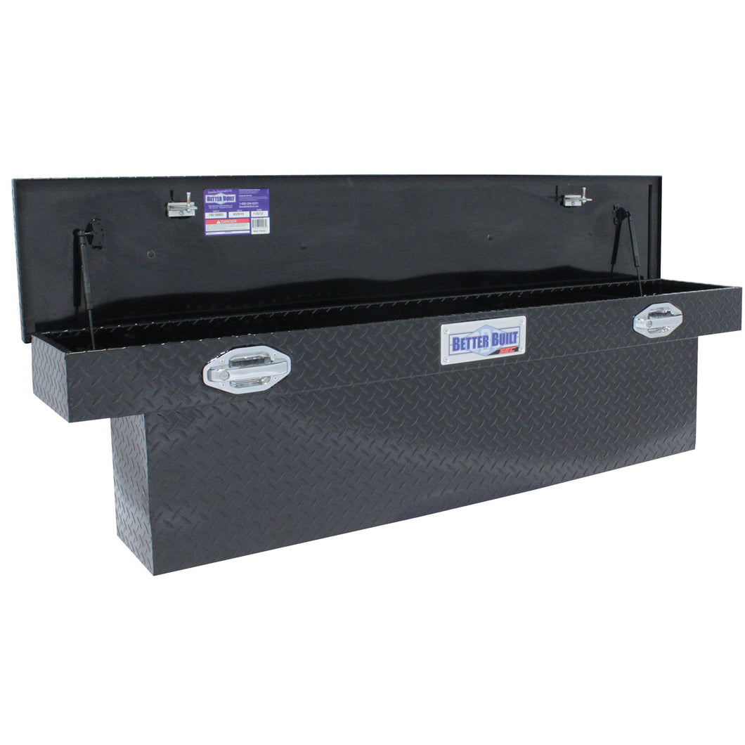 Better Built 79210904 71in Saddle Truck Box, Low-Profile, Narrow, Gloss Black