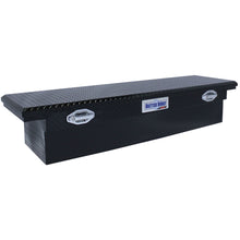 Load image into Gallery viewer, Model 79210920 71in Saddle Truck Box, Low-Profile, Gloss Black
