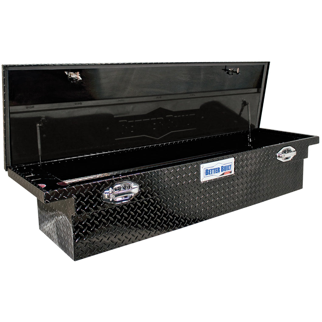 Better Built 79210920 71in Saddle Truck Box, Low-Profile, Gloss Black