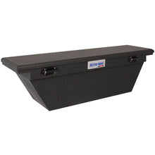 Load image into Gallery viewer, Model 79211106 71in Saddle Truck Box, Low-Profile, Deep, Wedge, Matte Black