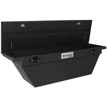 Load image into Gallery viewer, Better Built 79211106 71in Saddle Truck Box, Low-Profile, Deep, Wedge, Matte Black