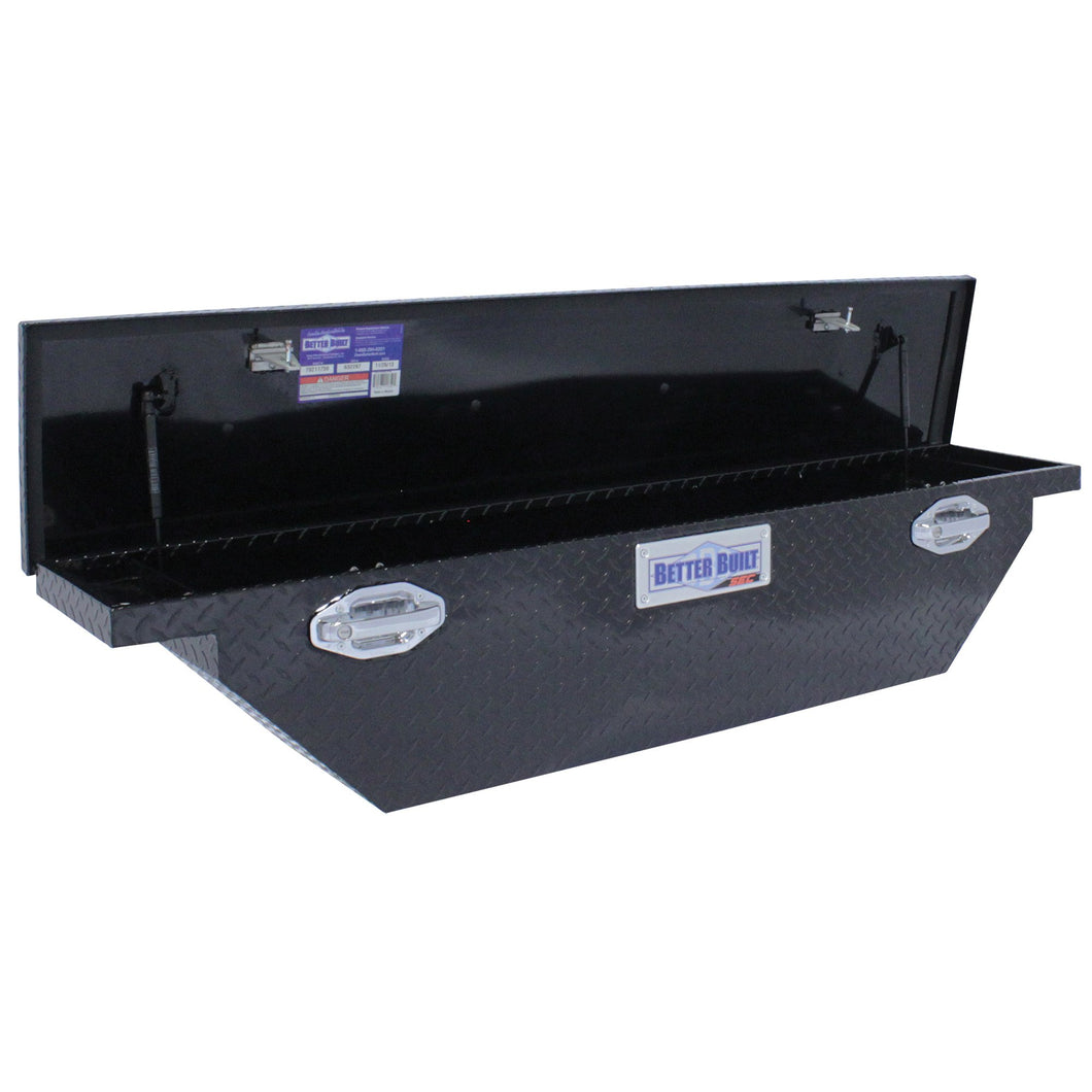 Better Built 79211759 61.5in Saddle Truck Box, Low-Profile, Narrow, Gloss Black