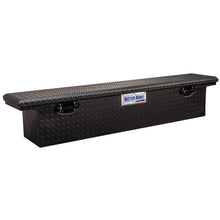 Load image into Gallery viewer, Model 79212422 69in Saddle Truck Box, Low-Profile, Narrow, Matte Black