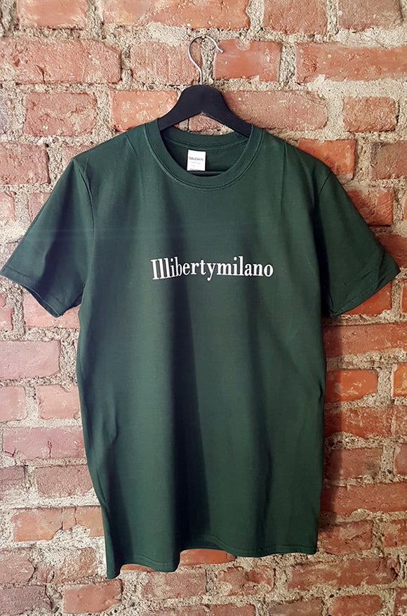 t-shirt illibertymilano verde oxford
