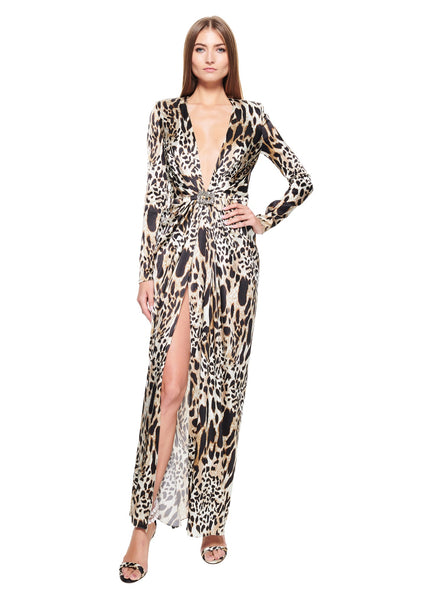 Leopard Gown