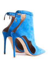 Load image into Gallery viewer, UNIVERSAL BLUE JAMILA HIGH HEEL BOOTIE