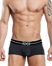 Feel  Boxer Negro- XL-FEG001