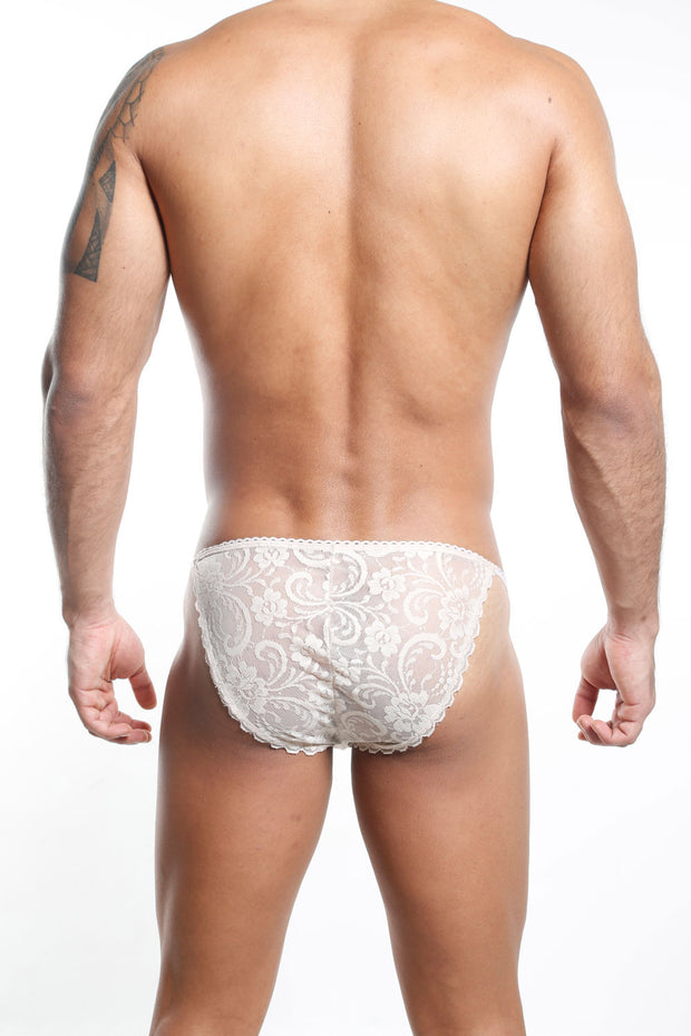 Secret Male SMI008 Slip Bikini - Blanco