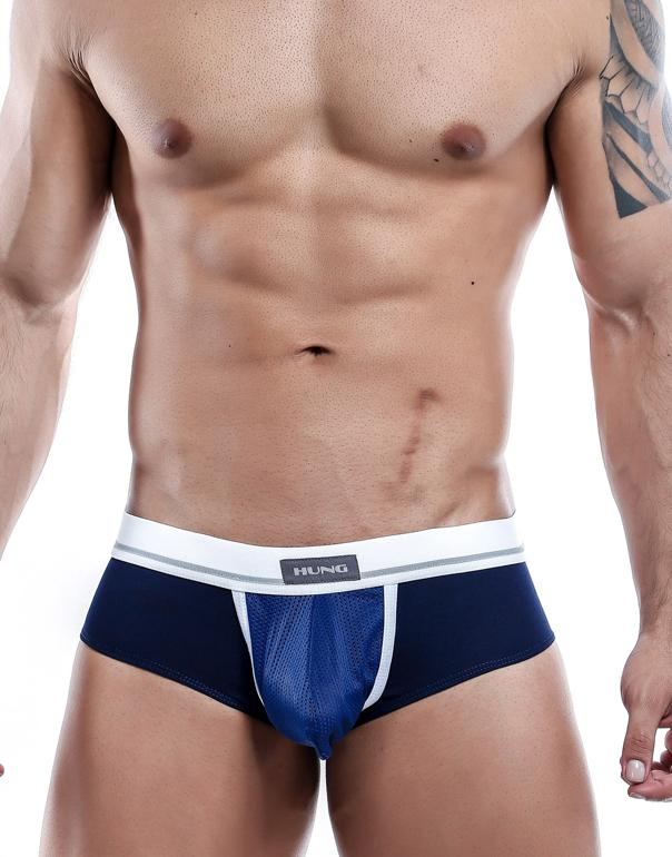 Hung  Briefs Azul Marino- XL-HGJ002