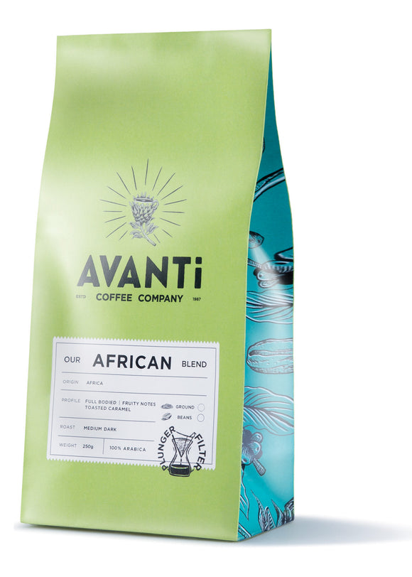 Avanti Coffee - African Blend 250g Filter Ground
