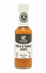 Fynbos Chilli & Garlic Sauce (Heat 3/10) 125ml