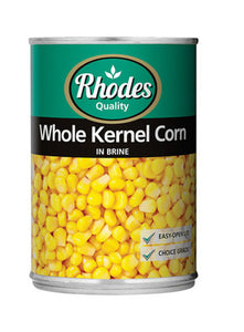 Rhodes Whole Kernel Corn 400g
